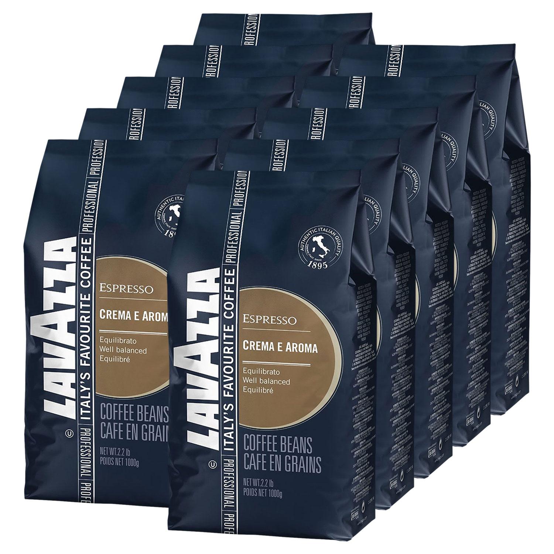 10 x lavazza espresso crema e aroma kaffee in ganzen. Black Bedroom Furniture Sets. Home Design Ideas